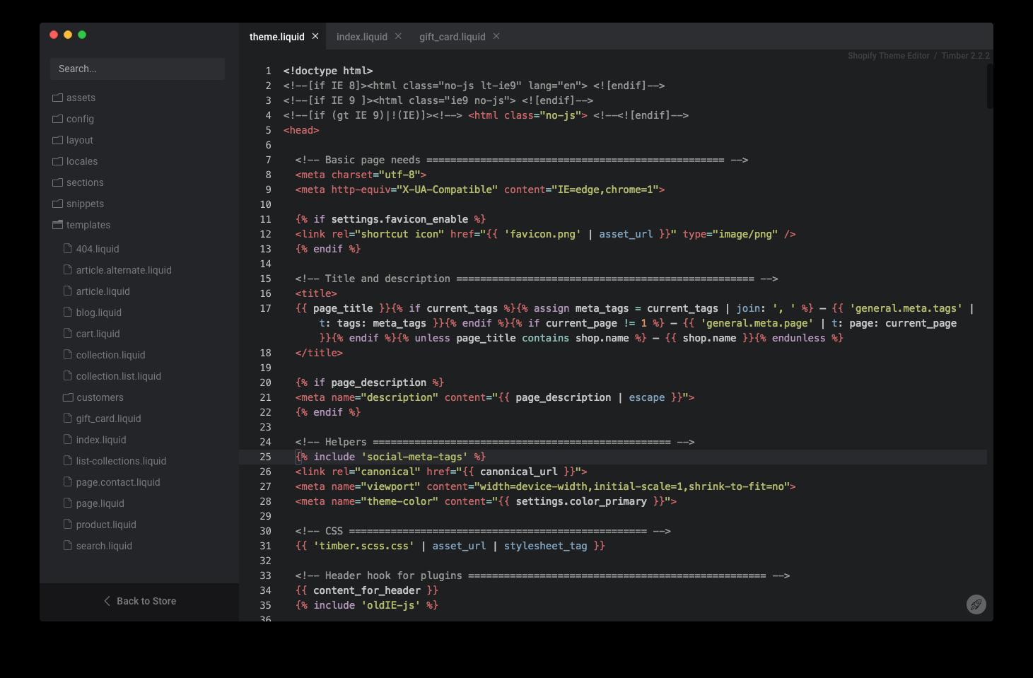 Motifmate - Hassle-free Shopify Desktop Theme Editor